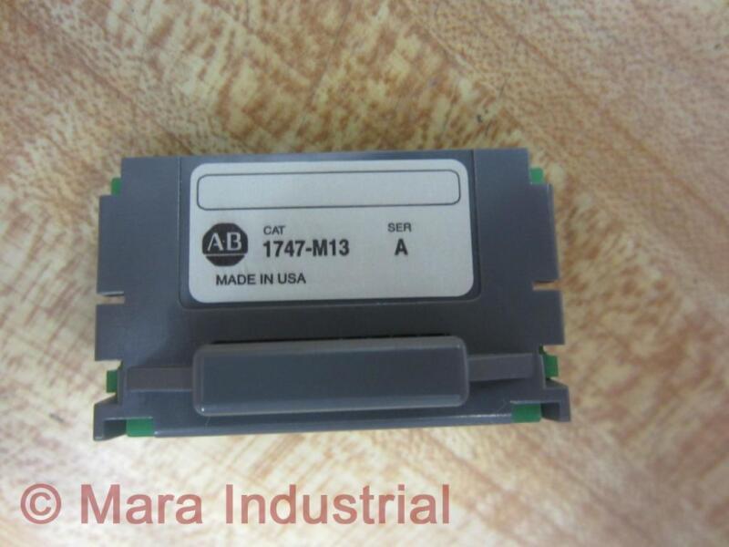 Allen Bradley 1747-M13 EEPROM Memory Module Series A
