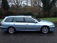 PEUGEOT 406 2.0 HDI (110 BHP) EXECUTIVE AUTOMATIC DIESEL ESTATE - LEATHER INTERIOR MOT JULY 2018