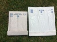 Mail lite postal bags, bubble/sealed air bags more than 200.
