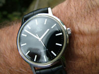 100% Genuine Gorgeous 1970 Vintage Omega Geneve Swiss 34mm Watch Vintage SERVICED WARRANTY