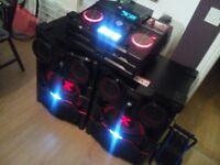 Lg X-boom CM9740 2900w Stereo BIG SPEAKERS - Bluetooth - USB