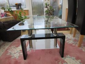 Glass Coffee Table...Cotemporary Style