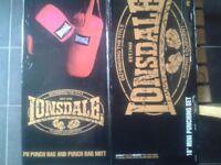 punch bag set
