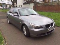 BMW 5 SERIES 2.5 525d SE 4dr 6 MONTHS FREE WARRANTY