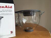 Kitchen aid glass bowl.