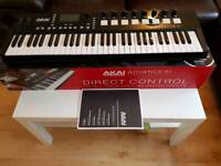 Akai Advance 61 Vip midi controller keyboard, like new
