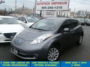 2015 Nissan LEAF Htd Seats&Wheel/Camera/Bluetooth &GPS*