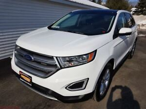 2017 Ford Edge 12977 KM, AWD, HEATED LEATHER, SUNROOF, REMOTE ST