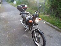 HONDA CG 125, MOTORCYCLE