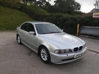 **AUTOMATIC+HEATED LEATHERS+BMW 530D 3.0 DIESEL AUTOMATIC SILVER (2002 YEAR)**