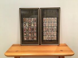Will's Cigarettes Mounted Cigarette Cards Collections - vintage