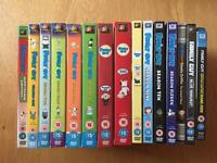 Family Guy Seasons 1-12 (Plus Feature Length Movie and Star Wars Specials)