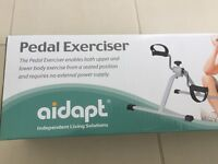 pedal exerciser- ideal for recovering from knee replacement or gentle exercise