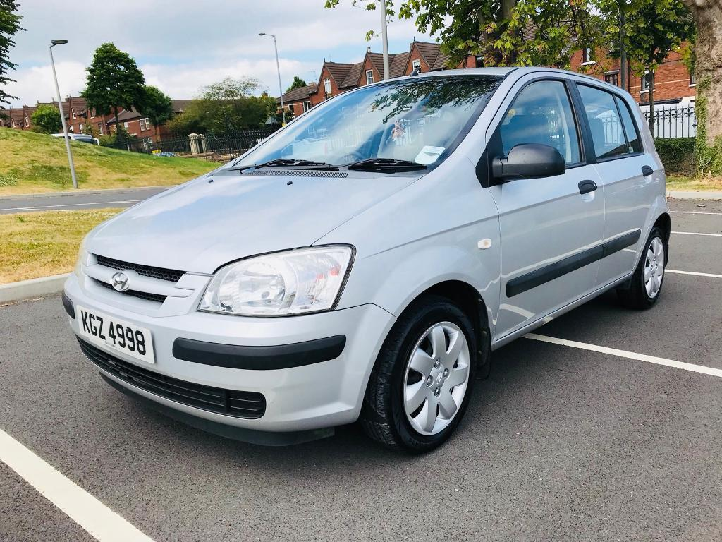 JUNE 2004 HYUNDAI GETZ 1.1 GSI ONLY ONE OWNER FROM NEW JUST PASSED THE MOT
