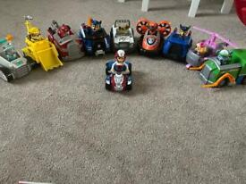 Paw Patrol Vehicles and Figure