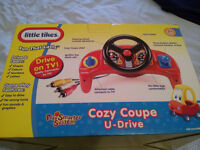 Little Tikes Crazy Coupe TV plug-in game for toddlers. Excellent condition & still in box