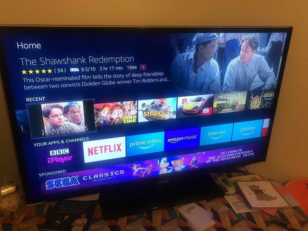 "SOLD Samsung - Slim LED TV, 40"" Smart TV series 5 | in ..."