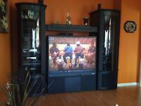 "Widescreen Entertainment Center - Fits up to a 60"" TV"