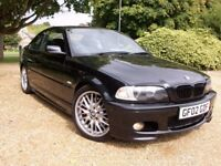 @STUNNING IMMACULATE 2002 BMW 330CI M SPORT,F.S.H,NO RUST,METICULOUSLY MAINTAINED,ELEC LEATHER@@