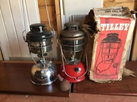 Vintage/retro Tilly lamps