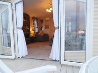 *Sensational* Sea Views *Beachfront* Platinum Caravan for hire Craig Tara Ayrshire.