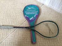 Slazenger Challenge Plus Squash Racket. Lightweight Racket. Older model would suit beginner.