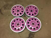 Audi pepperpot alloy wheels