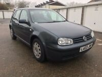 VOLKSWAGEN GOLF SE 2003 / 1.6 PETROL / 71000 MILES / MANUAL / JULY 2018 MOT / EXCELLENT CAR £995
