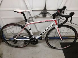 Cube peleton road bike