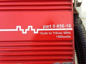 Durite modified AC power inverter 12 vdc to 110 vac