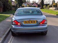 2002 JAGUAR X-TYPE SE 2.5 V6 AWD IN ZIRCON (ONE OWNER, FSH JAGUAR, LONG MOT)