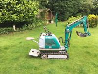 Kobelco-SS1-Super-Micro-Mini-Digger-Excavator-Low-Hours