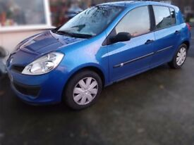 RENAULT CLIO EXPRESSION, 1.6ltr, BLUE, RELIABLE, AUTOMATIC, PETROL, HATCHBACK, 5DOOR