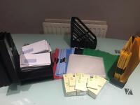 Office Stationary- selection of office essentials.