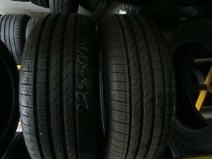 225/50R18 2 ONLY USED PIRELLI CINTURATO TIRES     LOC N2