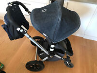 Bugaboo Cameleon series 2 pushchair, carrycot and bag
