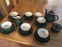 Yves Deshoulieres Porcelain APILCO tea set