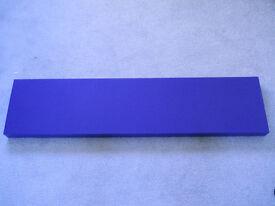Ikea Lack Purple Floating Wall Shelf, 109cm x 26cm.