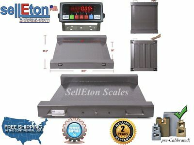 Ps-raw Portable 5000 Lb X 1 Lb Drum Wheel Chair Scale