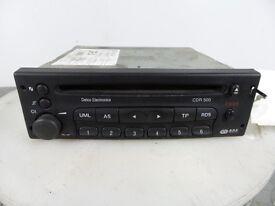 Vauxhall CDR 500 single CD player