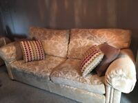 Beige Duresta Large Sofa