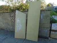 Two 18mm chipboard sheets