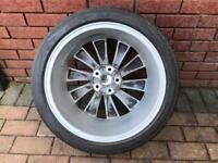 V W Alloy Wheel & Tyre