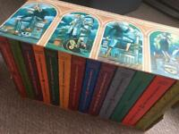 A Series of Unfortunate Events. Box set of 13 books
