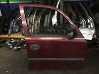 2004 vauxhall MERIVA MARIVA 1.6 PETROL DIESEL FRONT RIGHT OFF SIDE DRIVER DOOR