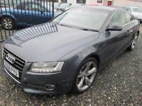 Audi A5 3.0 TDI QUATTRO SPORT 2dr COUPE MANUAL + 19 ROTA ALLOYS + LEATHER + FULL SERV... (grey) 2008