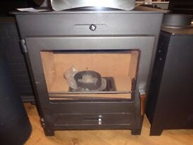 BROSELEY SILVERDALE 7 KW DEFRA APPROVED WOOD BURNING STOVE EX DISPLAY £499