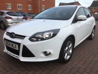 2014 Ford Focus Turbo 1.0 Petrol Ecoboost 12 Months MOT 60000 Miles 2 Owners FSH