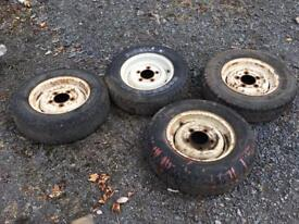 4 Landrover Wheels