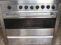 Nardi LPG Gas Stainless Steel Range Cooker